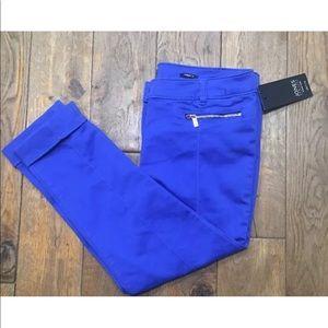 Jones New York Caspian Blue Capri Crop Pants